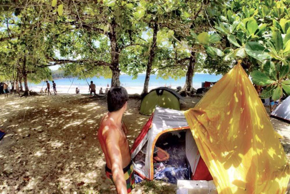 camping praia do sono