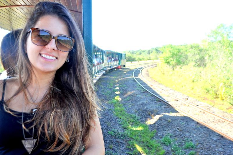 Trem da Estação Central no Parque Nacional Iguazú