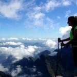 6h de caminhada até o alto do Morro Açú