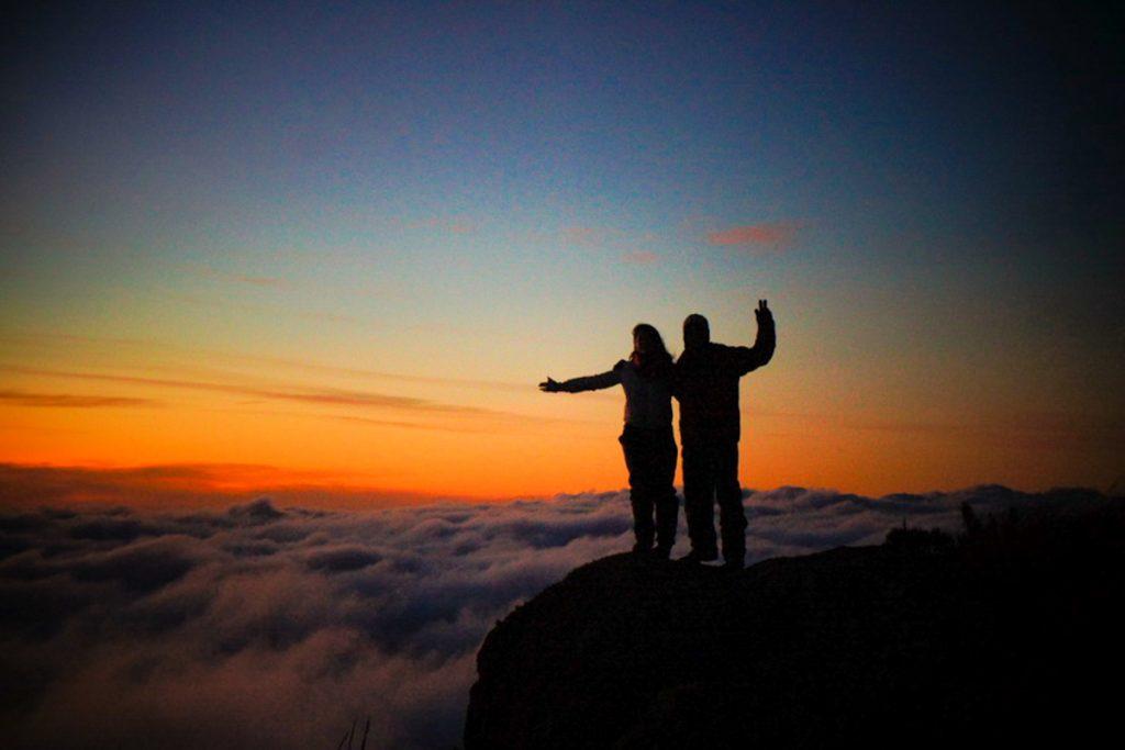 pôr do sol Morro Açú