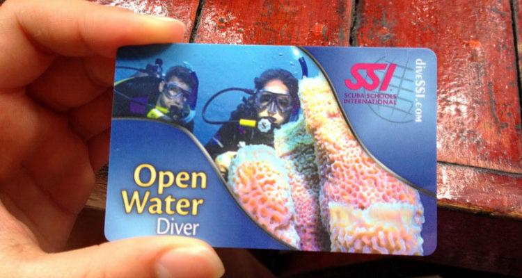 Curso de mergulho em Koh Tao na Tailândia