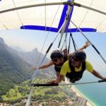 Mala de Aventuras Explora: Voo de Asa Delta em São Conrado