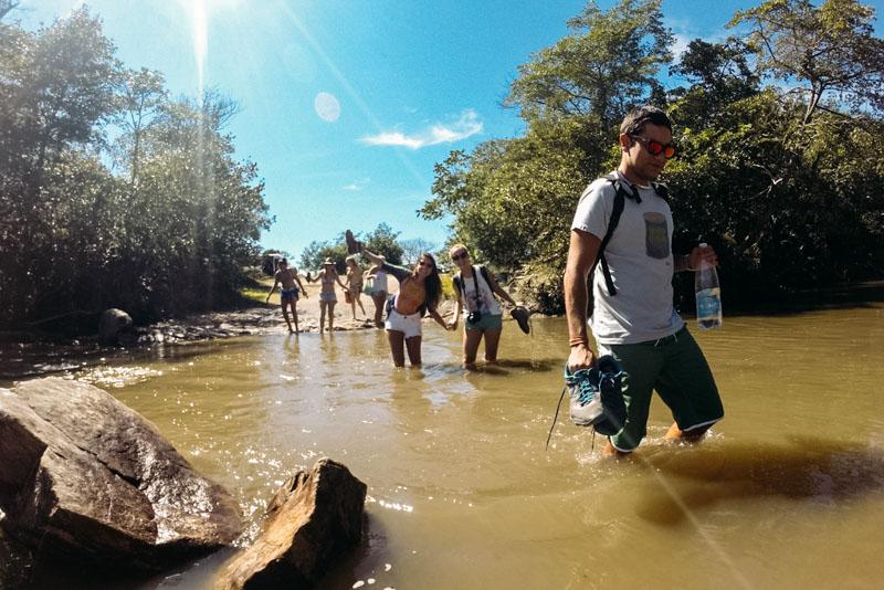 como chegar na Cachoeira Santa Bárbara na Chapada dos Veadeiros