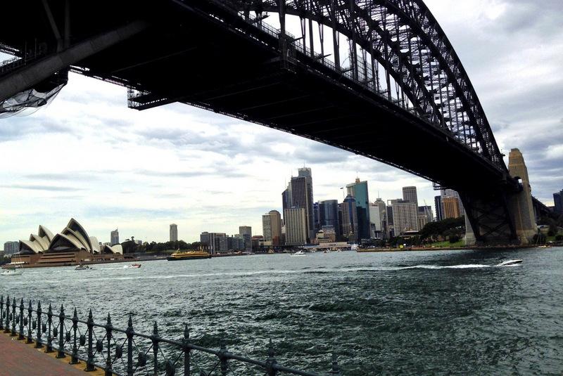 Harbour Bridge, Sidney, Austrália