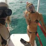 Mergulhando nos parrachos de Maracajaú