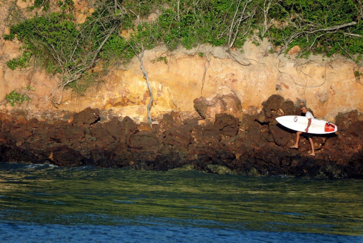 entardecer na Praia do Madeiro Pipa RN