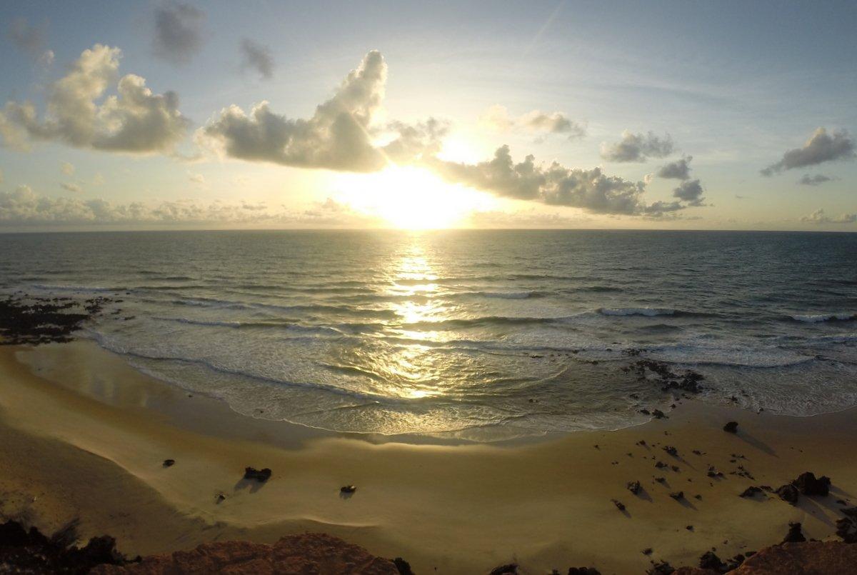 Praia da Pipa, nascer do sol no chapadão