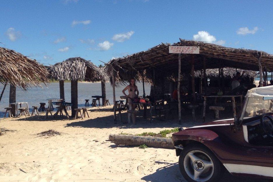 Bugre Praia da Restinga Baía Formosa RN