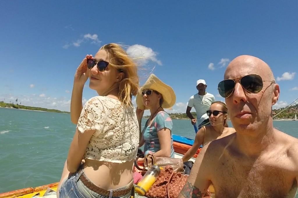 Passeio de Barco Barra de Cunhaú RN