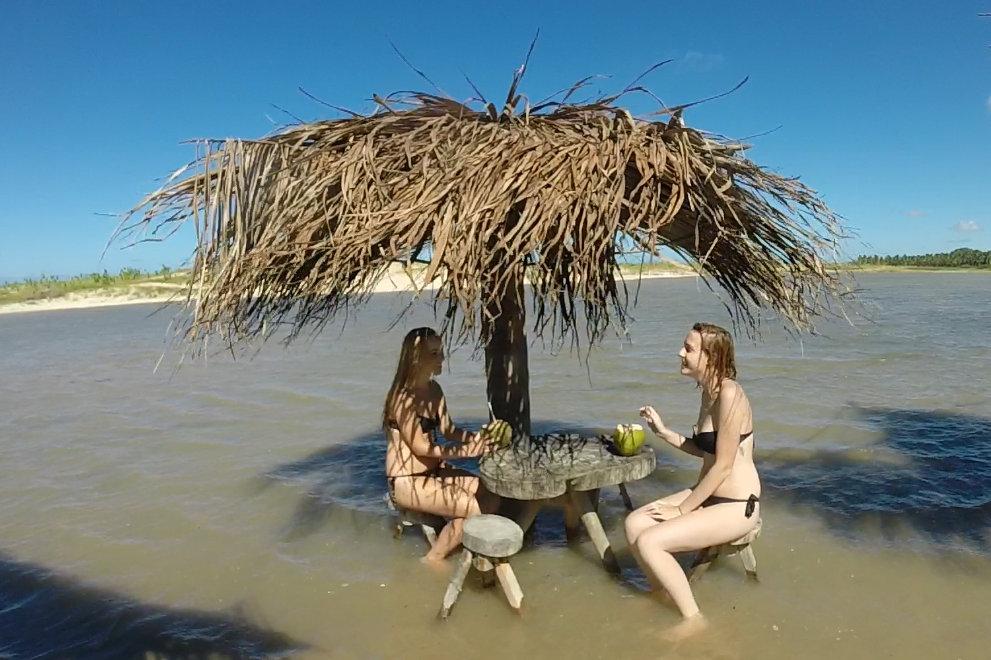 Praia da Restinga Baía Formosa RN