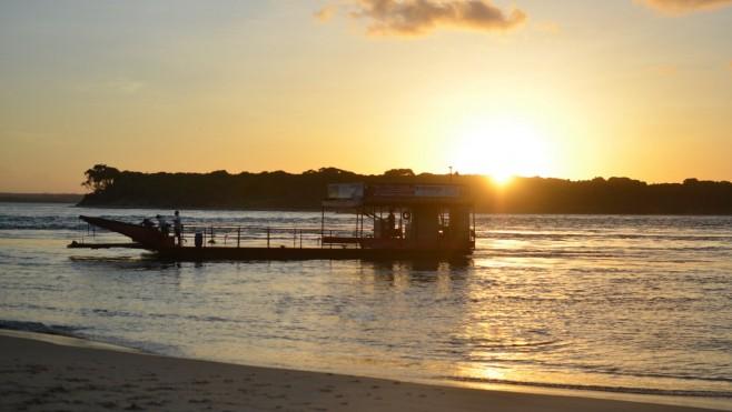 Por do Sul em Tibau do Sul