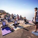 B-day Mala de Aventuras: café da manhã + aula de yoga na Pedra Bonita