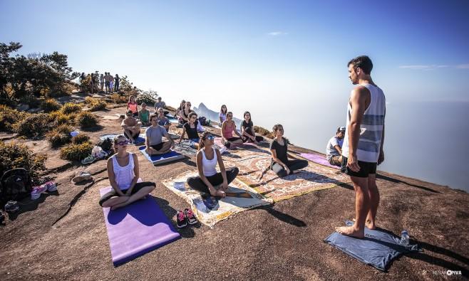 Yoga na Pedra Bonita