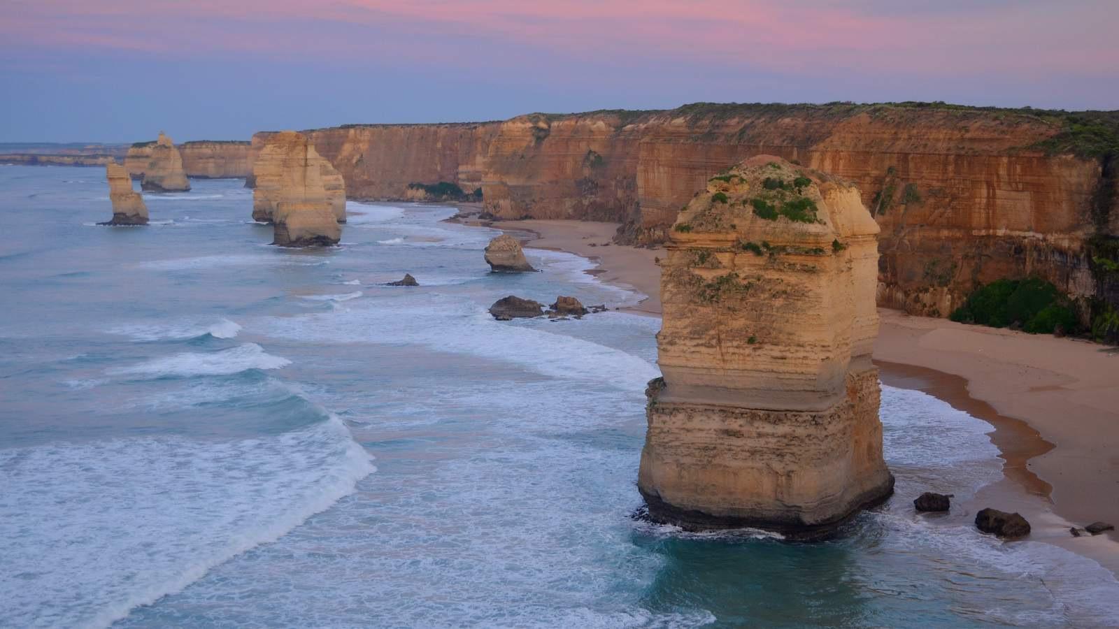 o que conhecer na australia: doze apóstolos