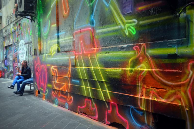 o que conhecer na australia: street art de melbourne