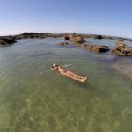 A maravilhosa piscina natural da Praia do Forte em Morro de São Paulo