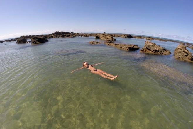 piscinas naturais do forte de morro de são paulo