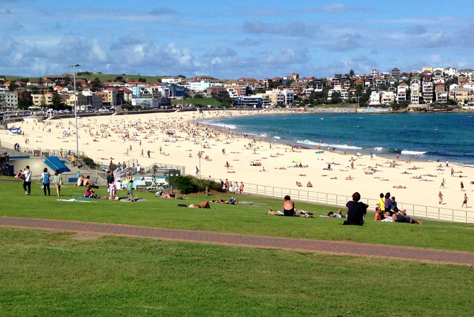 praias da australia: Bondi Beach