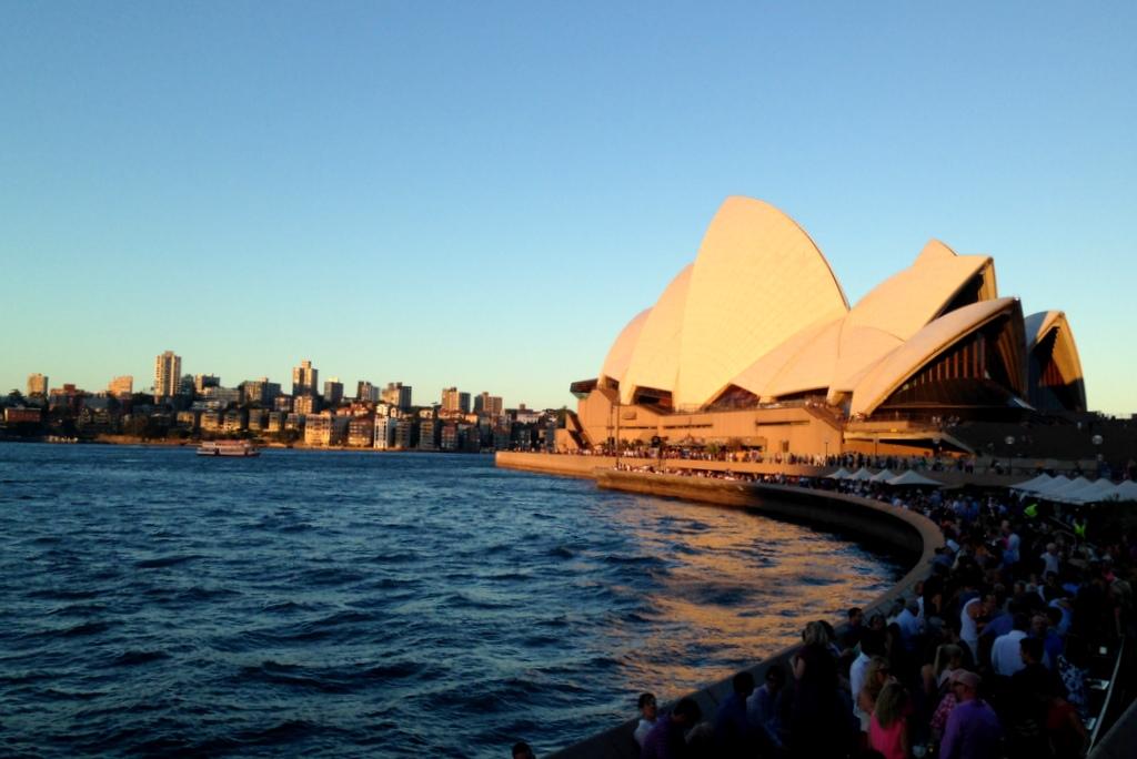 o que conhecer na australia: opera house, Sydney