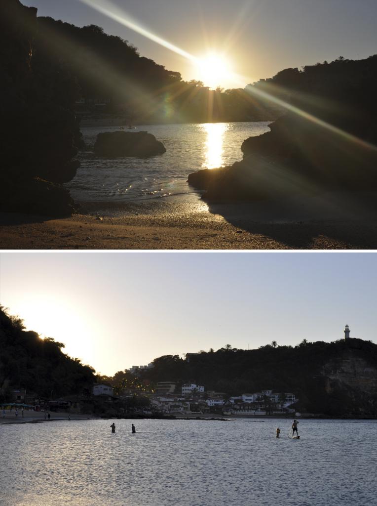 por do sol segunda praia