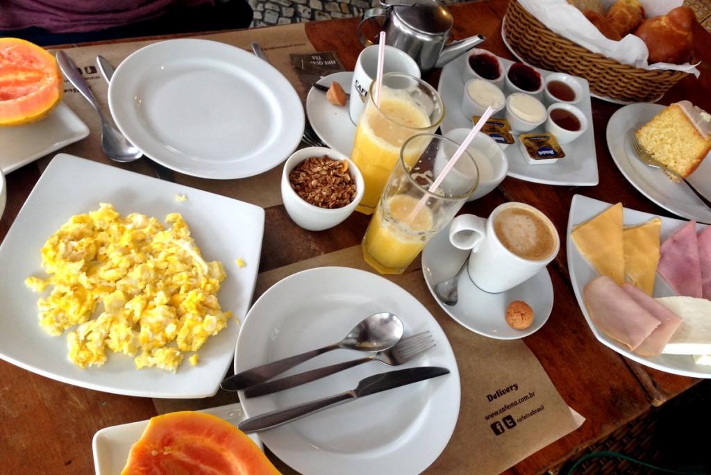 Café da manhã Cafeína