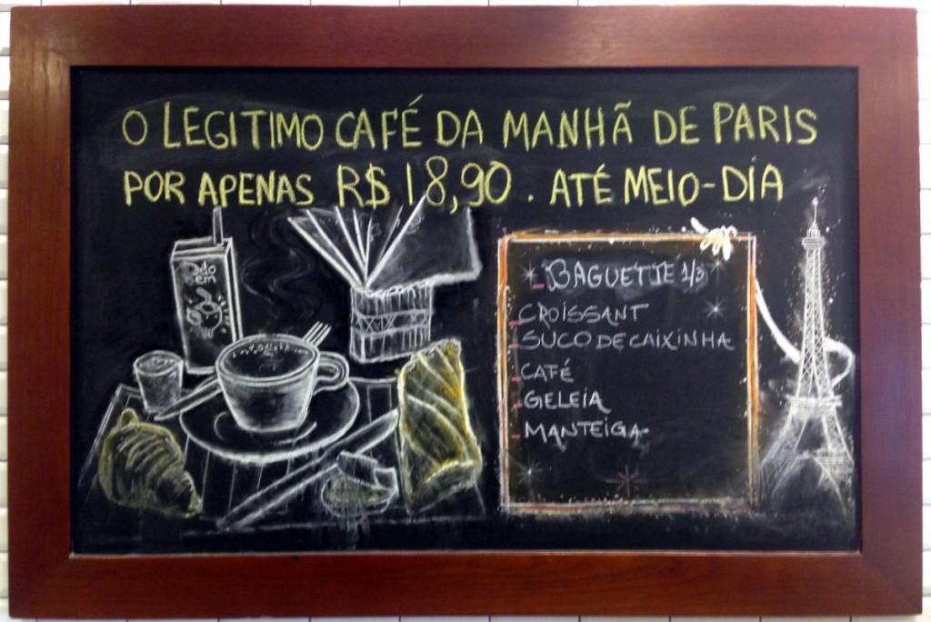 café da manhã Guerin Copacabana
