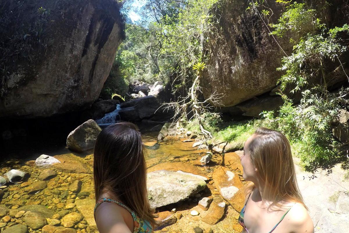 cachoeiras petrópolis, poço dos primatas