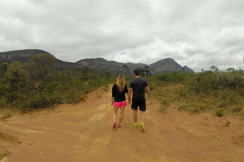 trilhas na chapada diamantina, trekking