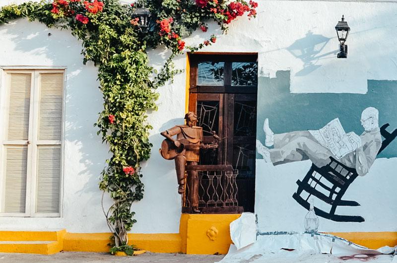 Grafiti e street art nas ruas de Getsemaní