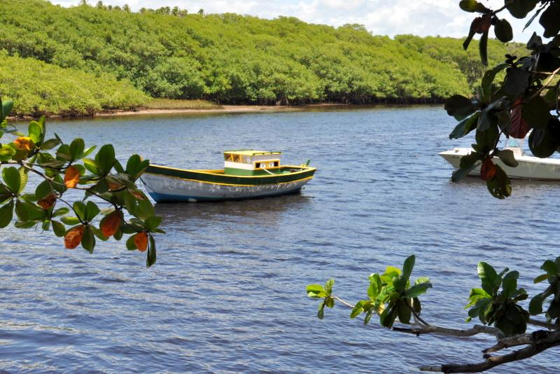 caraíva, Bahia, rio caraíva