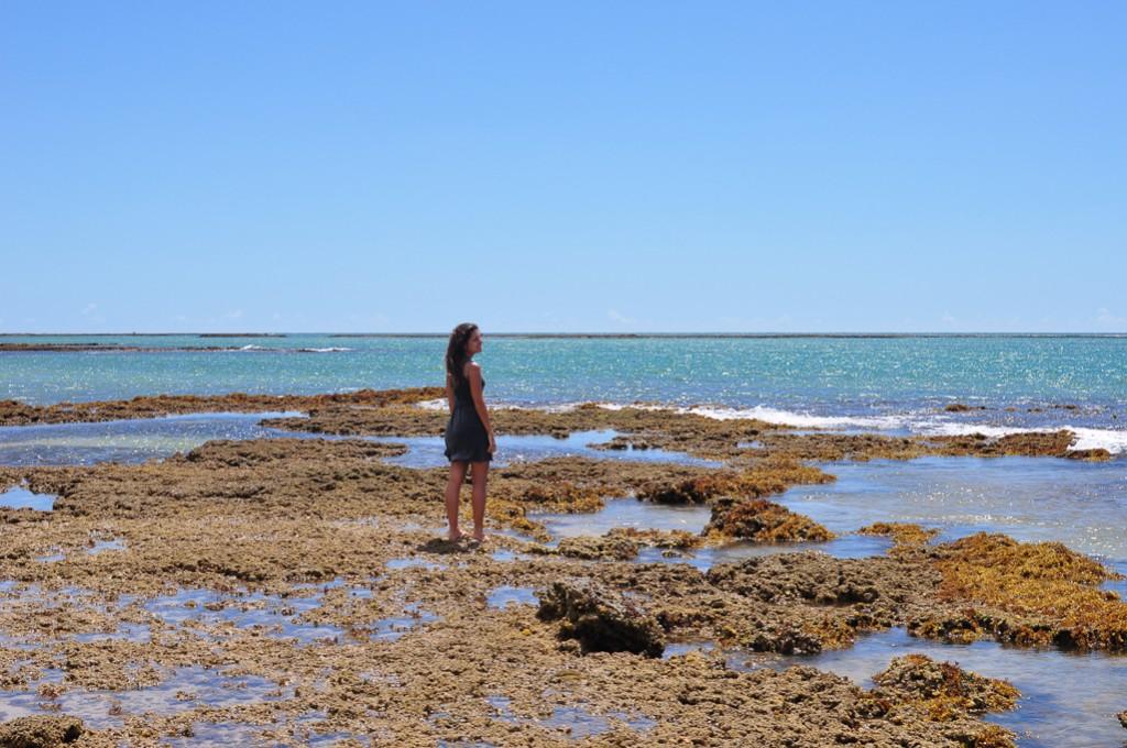 piscinas naturais praia do espelho