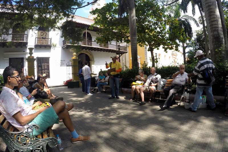 Free Walk Tour Cartagena