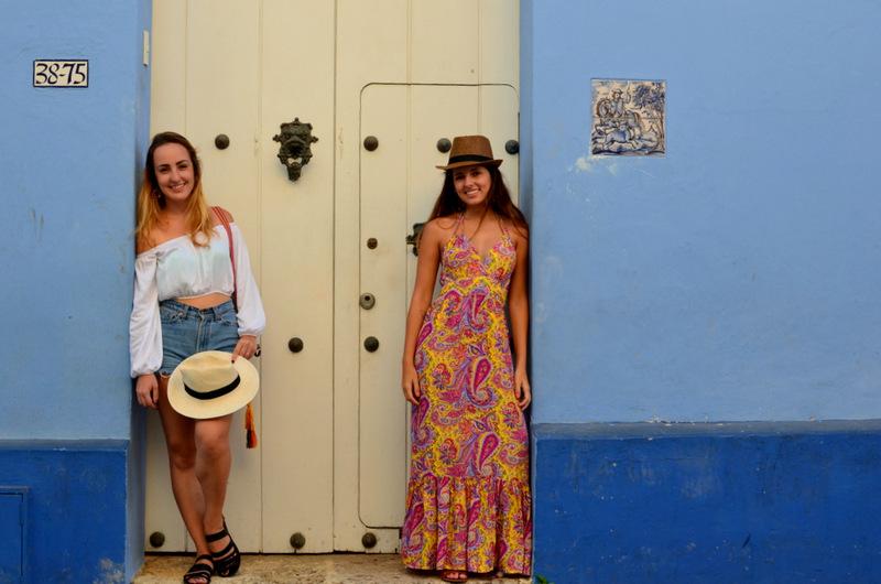 Casas Coloridas em Cartagena