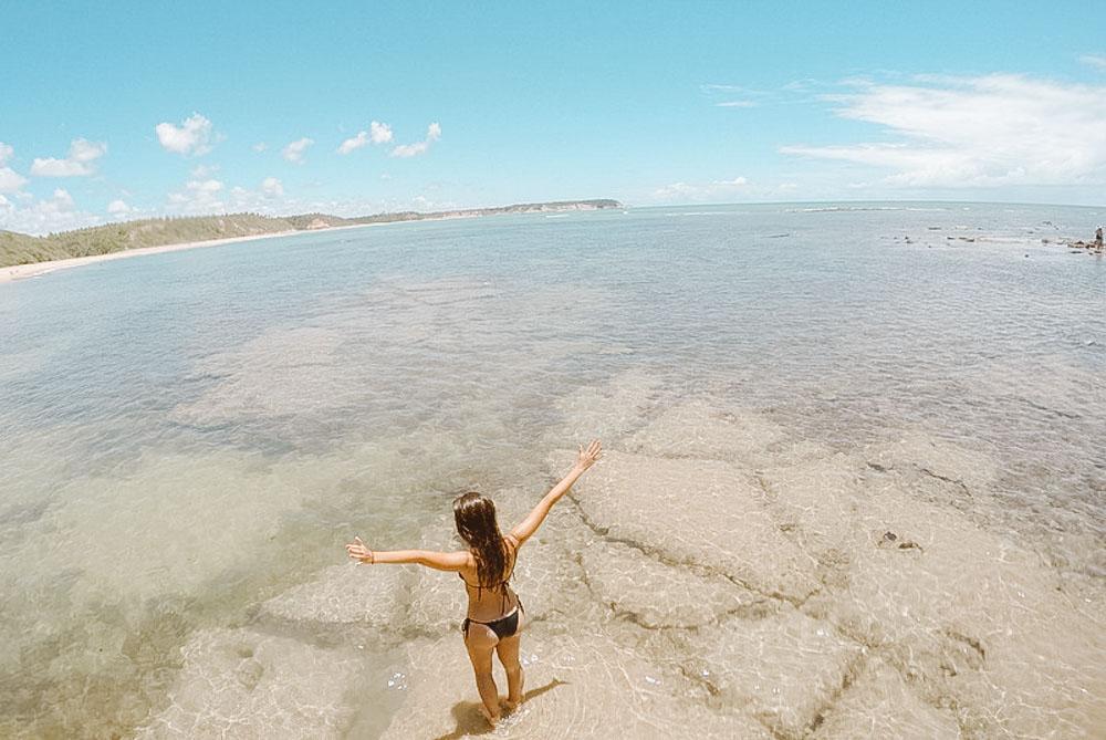 costa do descobrimento praia do satu