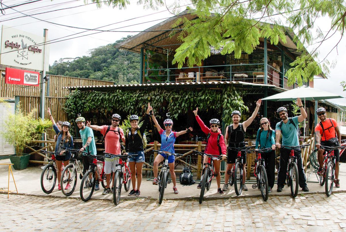 trilha de bike galpão caipira