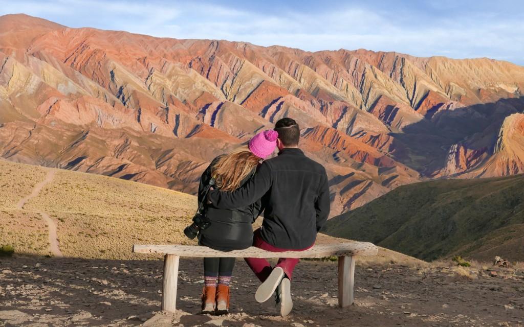 Montanhas do Cerro Catorce Colores
