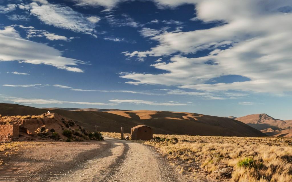 estrada de Humahuaca na Argentina