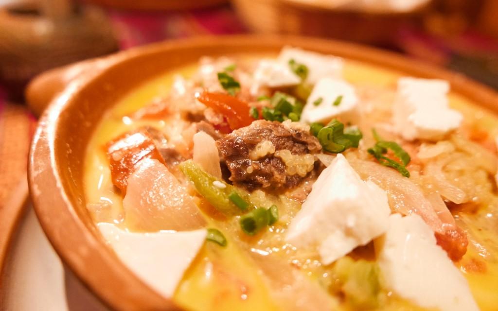 Prato do restaurante Aisito Humahuaca