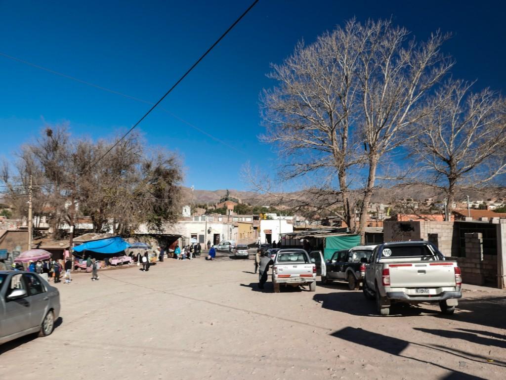 Vilarejo de Humahuaca na Argentina