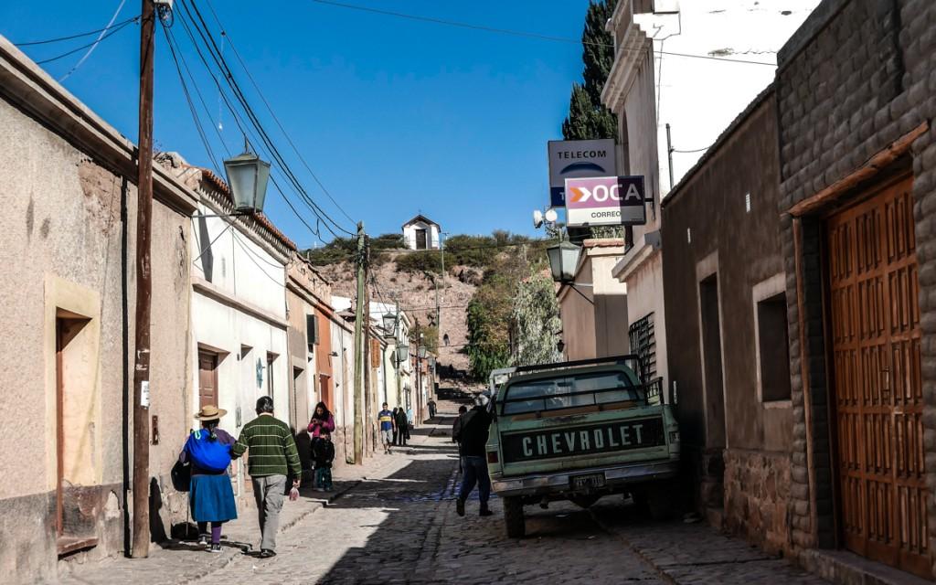 Ruas do vilarejo de Humahuaca