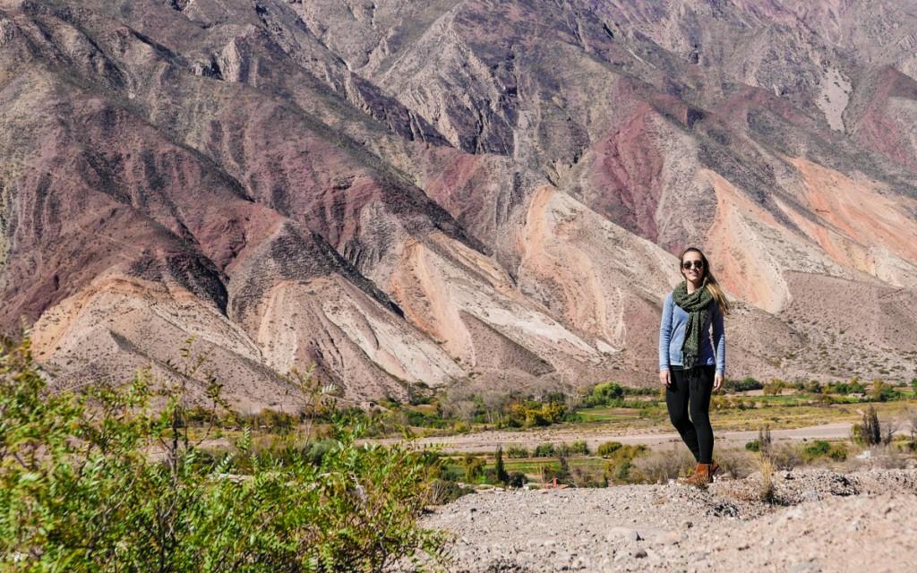 Montanhas da Quebrada de Humahuaca