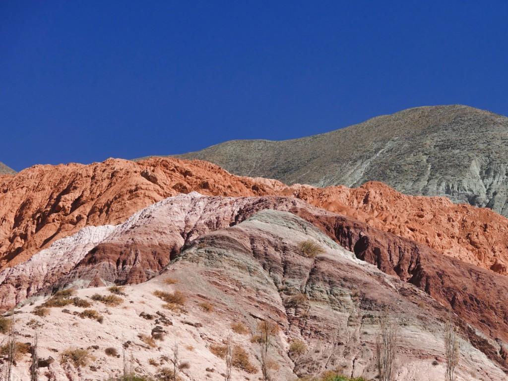montanha Cerro Siete Colores em Purmamarca,