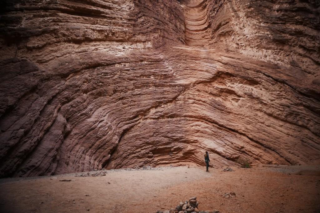 Cadeia montanhosa da Quebrada de las Conchas