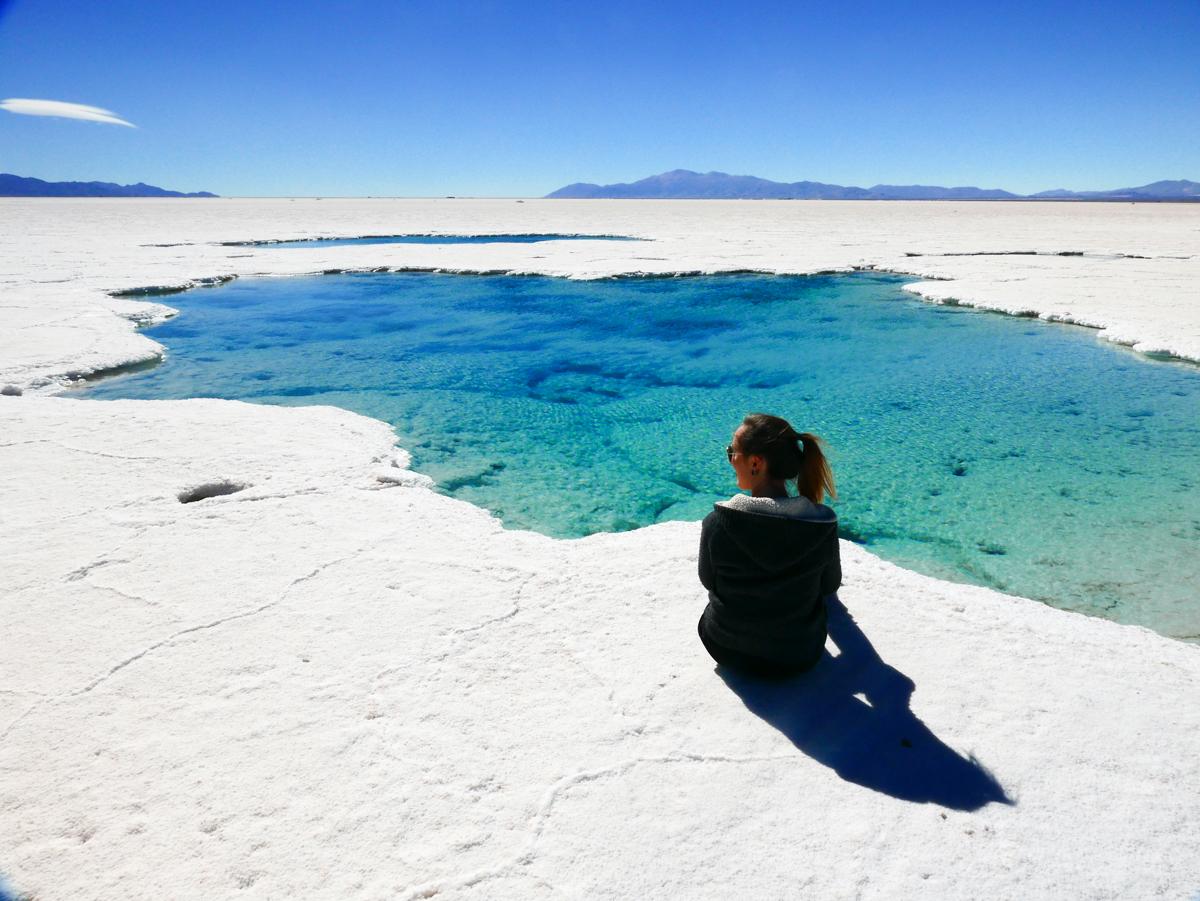 Salinas Grandes em Jujuy na Argentina