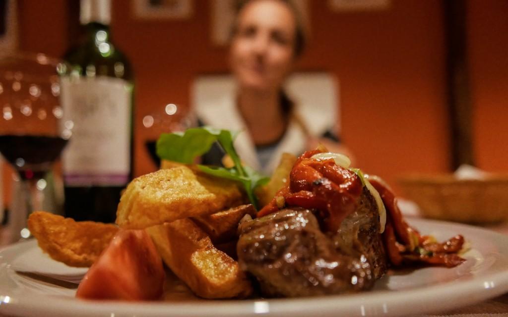Jantar do Restaurante La Posta