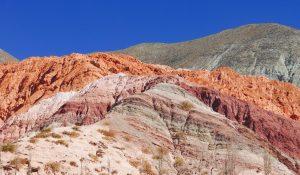 Montanha Cerro Siete Colores, Purmamarca, Argentina