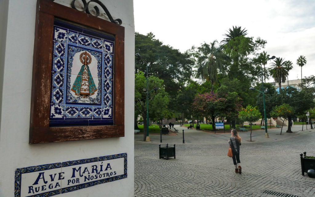 Plaza Nove de Julio Salta