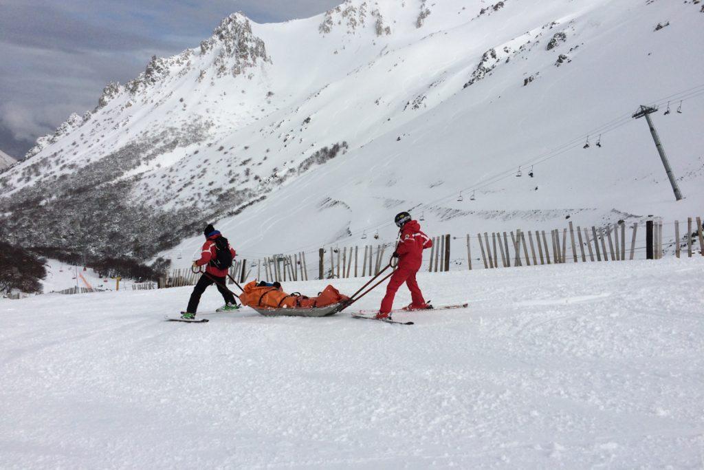 resgate esqui