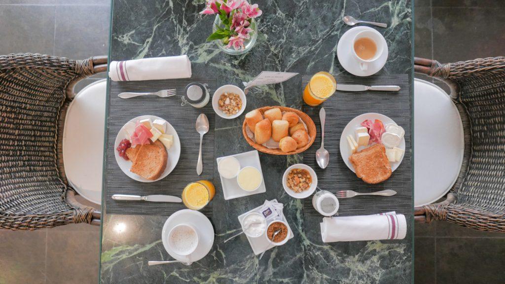 Café da manhã Locanda della Mimosa