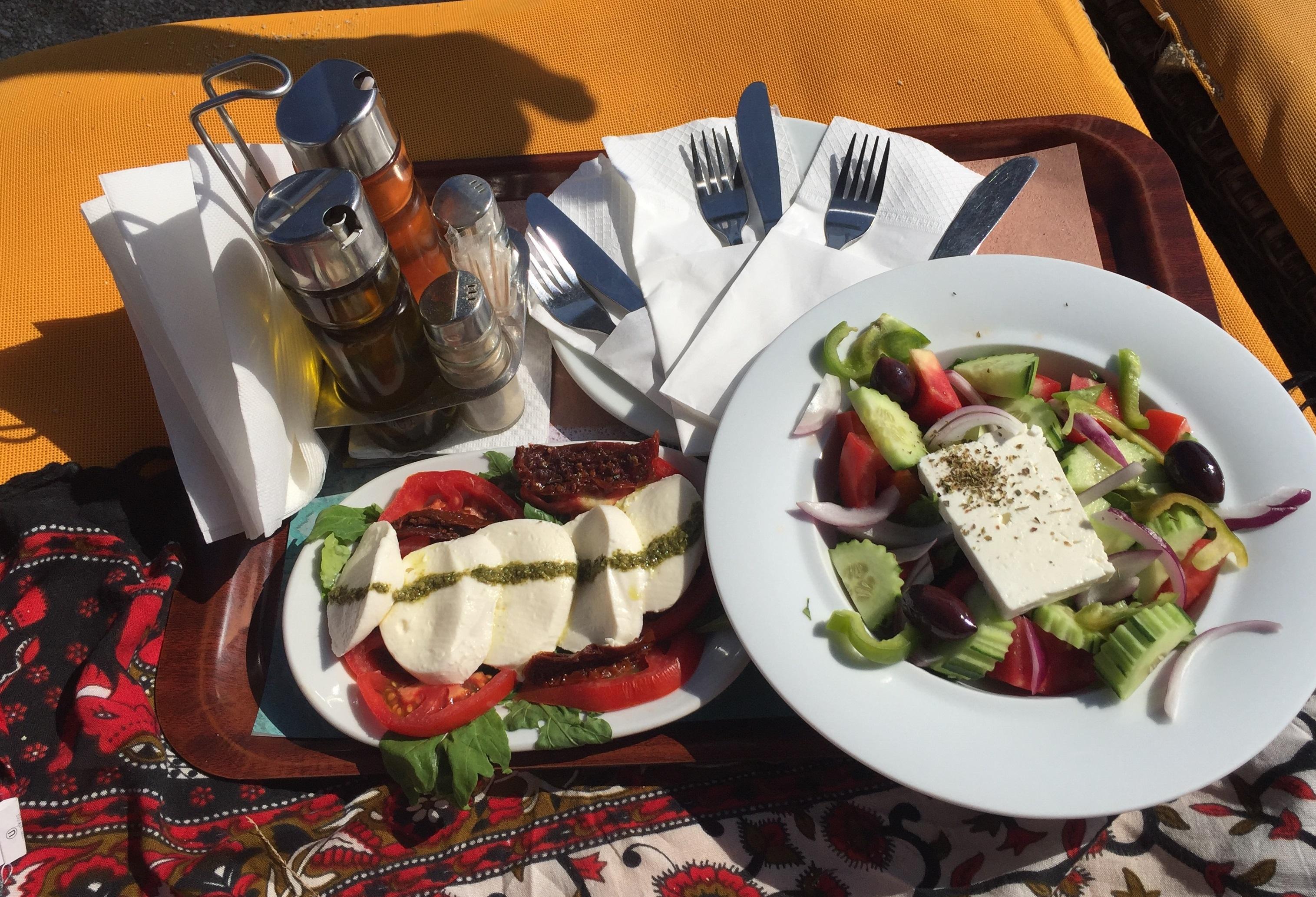 Salada grega, Mykonos